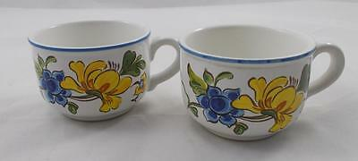 Villeroy & and Boch PROVENCE 2 x tea cups A/F