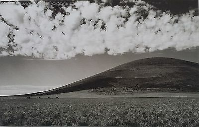 Early Jay Dusard Photo North Sheba Crater Arizona Open Country Signed 7/100 B&W