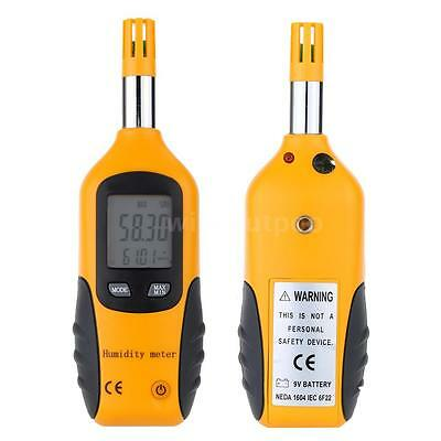 Portable High Accuracy Digital Hygrometer Wet Bulb / Dew Point Thermometer C2S9