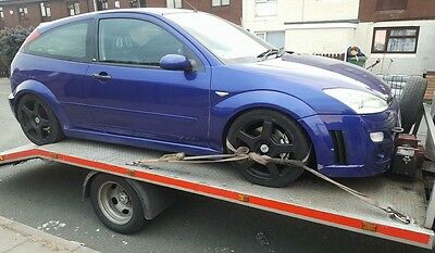 Breaking Ford Focus RS Mk1 2003 - Most Parts Available