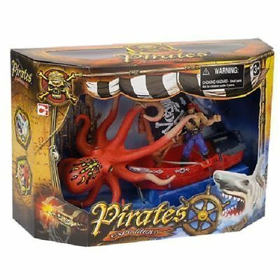 Pirates Expeditions Childrens Octopus Toy Set