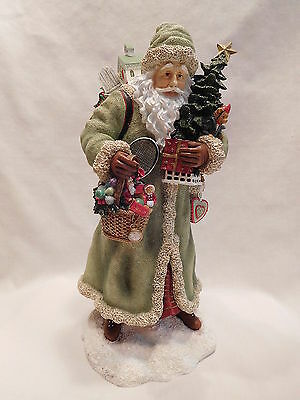 "2002 Pipka Cottage Santa Limited Edition Memories of Christmas 11"" Figurine"