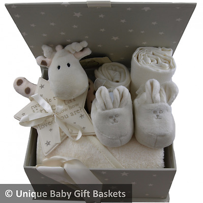 "Stunning packed ""Twinkle"" memory box unisex baby shower baby gift basket unique"