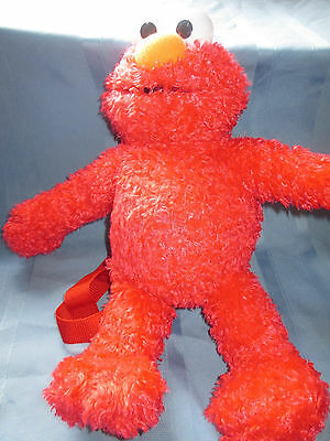 "14"" Plush Elmo Backpack-Sesame Street"