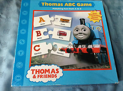 Thomas the Train  ABC  Puzzle Game-All 52 pieces