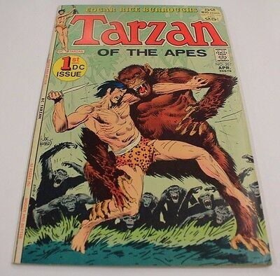 Tarzan #207 VF Key 1st DC Issue) 1972