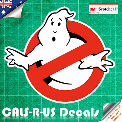 Classic Ghostbusters Luggage Sticker Decal Skateboard Guitar Motorcycle. 3M Film