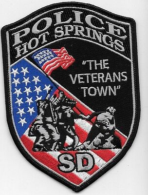 Hot Spring South Dakota Sd The Veterans Town Flag Marine Corp Let Us Not Forget