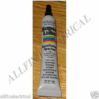 SuperLube High Temperature PTFE Synthetic Grease 12gm. Part # SL21010