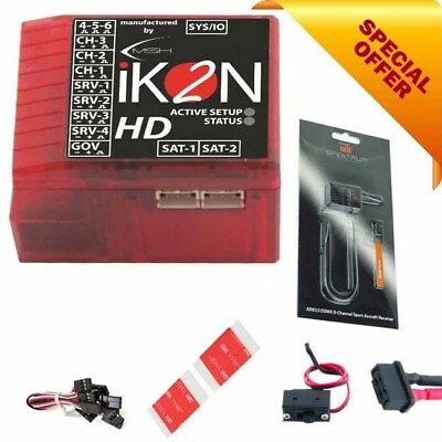 iKON IKON2 HD Flybarless System W/ Spektrum AR610 6-Channel Receiver