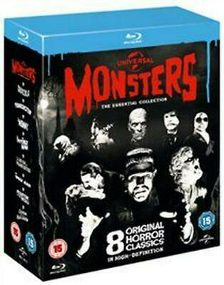 Universal Classic Monsters: The Essential Collection - Blu-ray Region B Free Shi