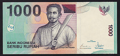 Indonesia Banknote 1000 Rupiah UNC P-141a
