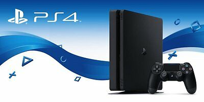 Sony PlayStation 4 Slim or Pro - Customized - PS4 with up to 2TB HDD, SSHD, SSD