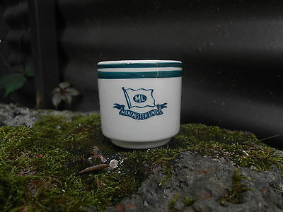 Machester Liners egg cup bucket style ocean liner steamship china shipping line