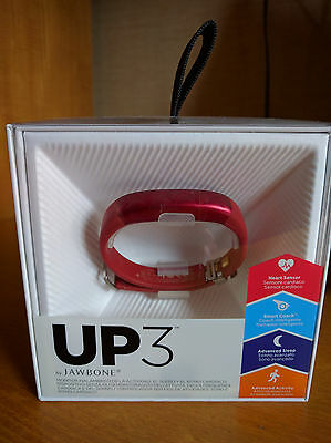 Jawbone UP3 Rosso/Red