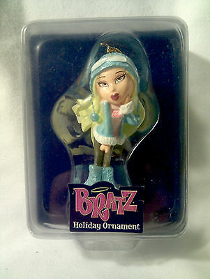 BRATZ-Passion for Fashion-Stylin' Holiday Ornament-Blonde-Baby Blue-MINT IN BOX