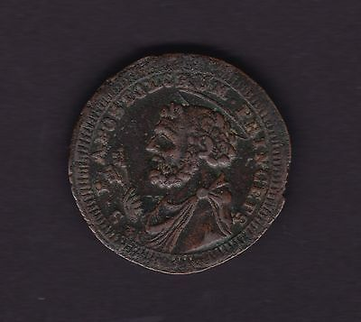 Papal States 1797 2.5 Baiocchi Coin Fermo