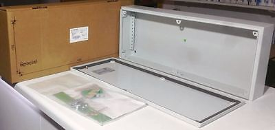 Schneider Electric Steel Industrial Electrical Enclosure IP66 Fuse Board Metal