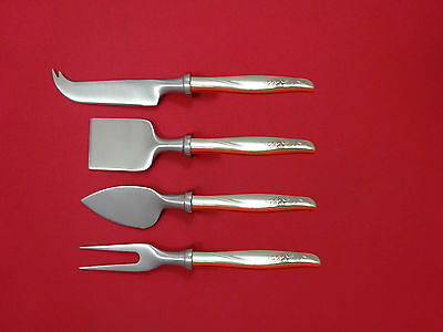 Sea Rose by Gorham Sterling Silver Cheese Serving Set 4pc HHWS  Custom