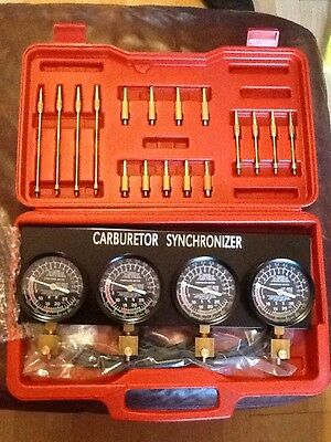 Trident Carburettor Synchroniser For motorcycles