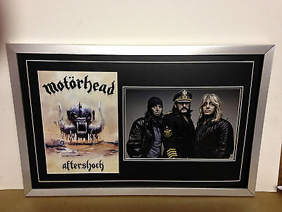 Motorhead Genuine Hand Signed/Autographed Photograph with COA