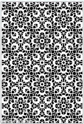 Sue Wilson A4 Embossing Folder - Provencal Lace - EF-063 - Creative Expressions