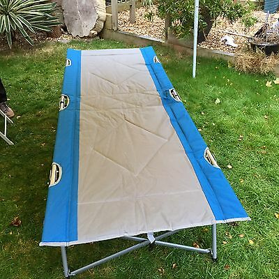 Quest Sample Folding Camp Bed In Carry Bag