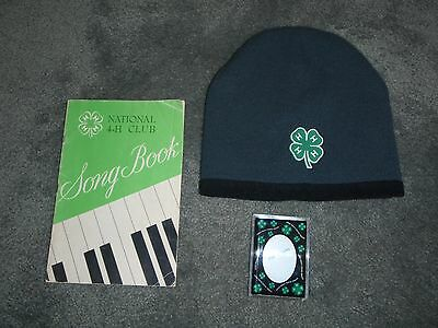 4-H Club - National Song Book/Beanie/Photo Magnet