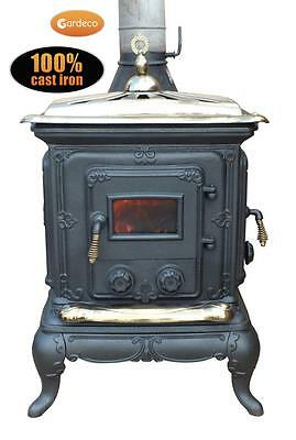 GARDECO AMBLECOTE 7.22KW Multi Fuel Stove - Fully CE Approved, Wood Burner, Fire