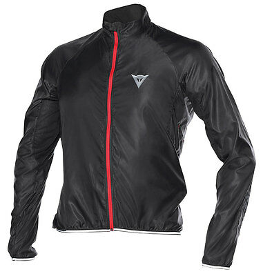 Dainese Zero Wind Mens Cycling Windproof Jacket  Black