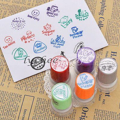 Self Inking Comment Stamp Teacher School Students Homework Rating Praise Gifts