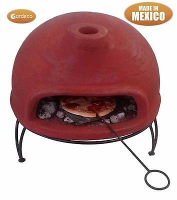 Portable Clay Pizza Oven Quality Gardeco Brand MEX - UK Seller - Brand New