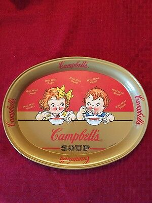 Campbell's Soup Tin Serving Tray 1998