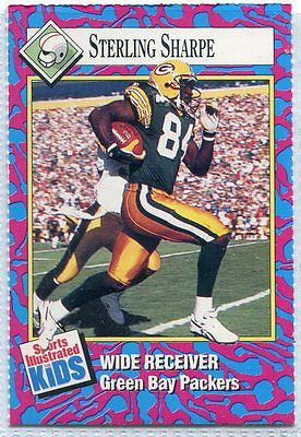 1993 Sports Illustrated for Kids II #180 Sterling Sharpe FB Football