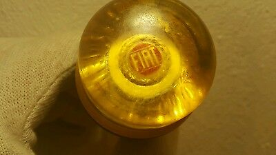 Vintage Fiat Lucite Knob Ball For Antique Car Truck Bakelite Gear Shift Italy