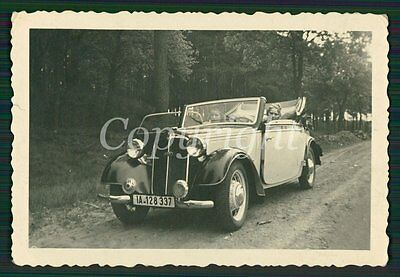 Foto hübsche Mädels im Cabrio COUPE DKW Auto Union Oldtimer CAR Photo 30s