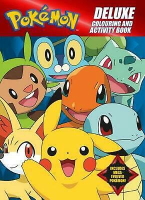 Pokemon Deluxe Colouring and Activity Book by Paperback Book