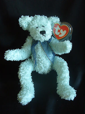 Ty Beanies Bear - Attic Treasures Armstrong With Tag
