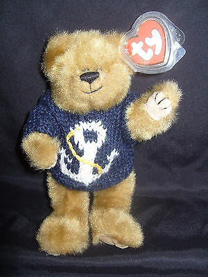 Ty Beanies Bear - Attic Treasures Salty With Tag