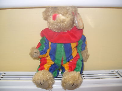 Ty Beanies Bear - Attic Treasures Piccadilly With Tags