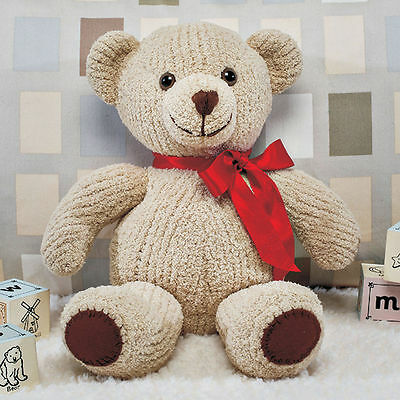 Knitting Kit Bruno Teddy Bear by Twilleys of Stamford Adult Craft Set Wool
