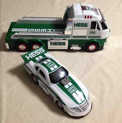 2016 Hess Toy Truck And Dragster New In Box Great Christmas Gift. -Free Shipping