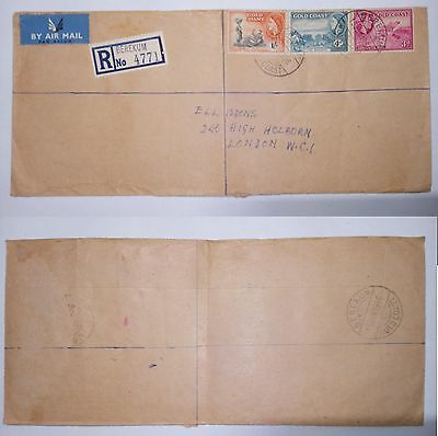 Ghana 1982 Air Mail To Los Angeles Stamps & Cover