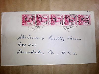 Philippines 19.2.1947 Stamps & Cover To Lansdale U.s.a.