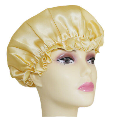 Jasmine Silk Pure Silk Night Sleep Cap Sleeping Caps Hats - IVORY