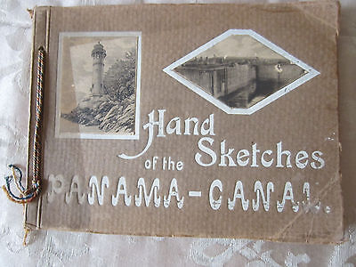 Hand Sketches of the Panama Canal
