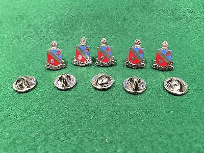 Lot of 5 1970's Vintage Defense Language Institute Pin Pins