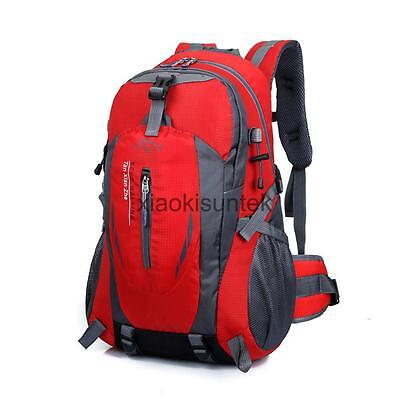 40L Travel Backpack Hiking/Camping Rucksack Luggage Bag Pack Outdoor Sports