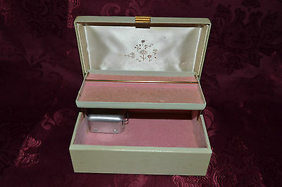 Vintage Music Box Jewelry Case By Farrington