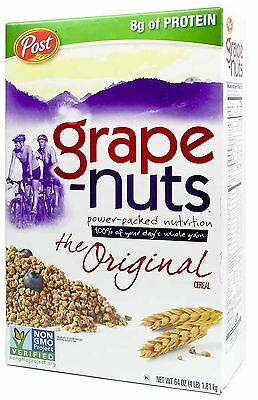 Post Grape-Nuts Cereal, 64-Ounce Box